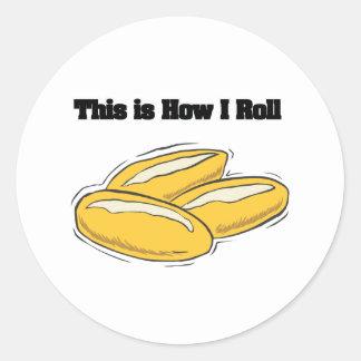 How I Roll (Italian Bread Rolls) Sticker