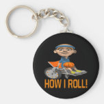 How I Roll Key Chain