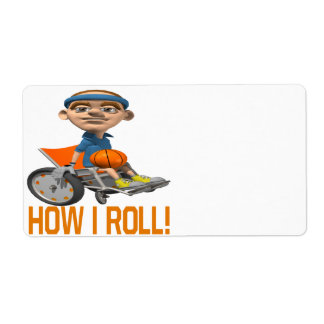 How I Roll Label