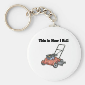 How I Roll (Lawn Mover) Keychain