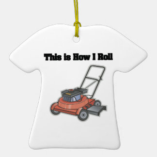 How I Roll (Lawn Mover) Christmas Ornaments