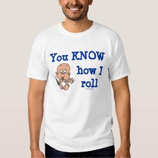 How I Roll (Light Skintone) T-shirt