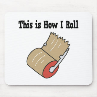 How I Roll Mail Packing Tape Mouse Pad