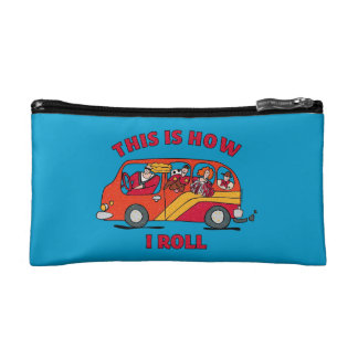 How I Roll Mom Minivan Cosmetic Bag