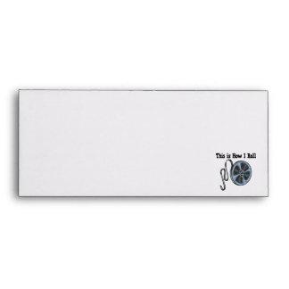 How I Roll Movie Film Tape Envelope