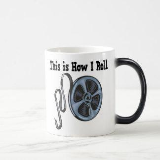 How I Roll Movie Film Tape Magic Mug