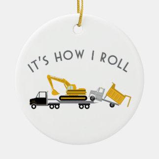 How I Roll Christmas Ornaments