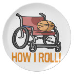 How I Roll Party Plates