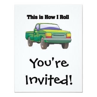 How I Roll (Pickup Truck) Card