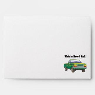 How I Roll (Pickup Truck) Envelope