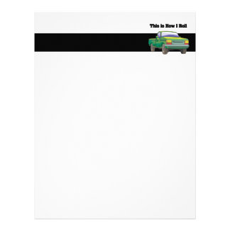 How I Roll (Pickup Truck) Letterhead