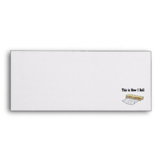 How I Roll Plastic Wrap Envelope