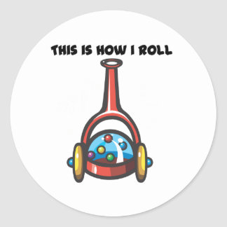 How I Roll (Popping Toy) Sticker