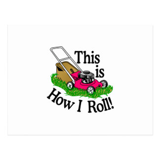 How I Roll Postcard