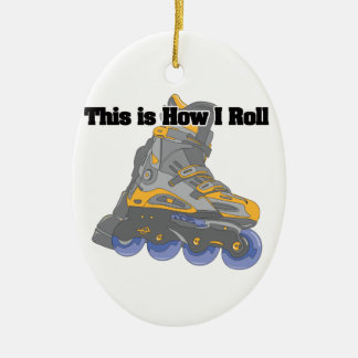 How I Roll (Roller Blades/Inline Skates) Ornaments