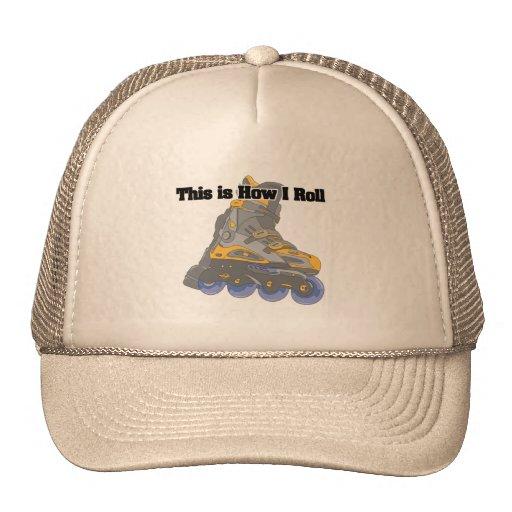 How I Roll (Roller Blades/Inline Skates) Trucker Hat