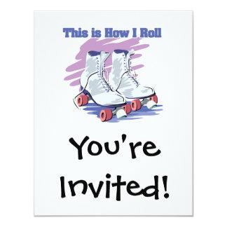 How I Roll (Roller Skates) Card