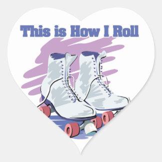 How I Roll (Roller Skates) Sticker