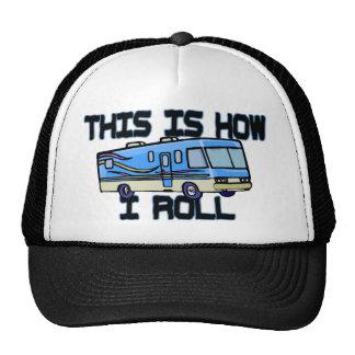 How I Roll RV Trucker Hat