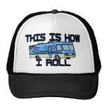 How I Roll RV Mesh Hats