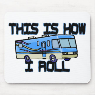 How I Roll RV Mouse Pad