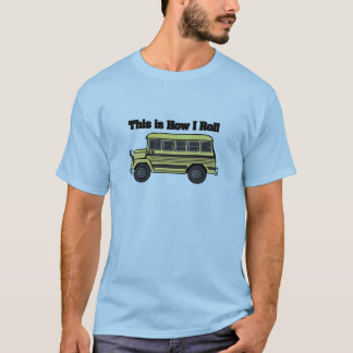 How I Roll (School Bus) T-Shirt