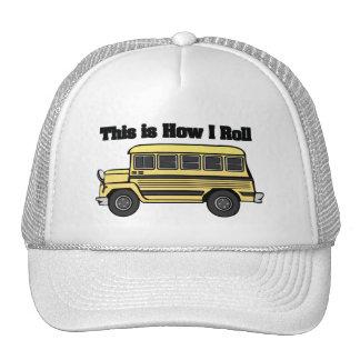 How I Roll (School Bus) Trucker Hat