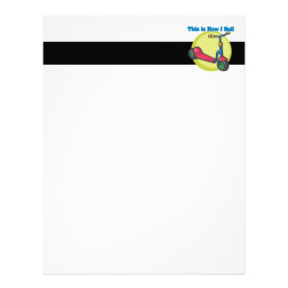 How I Roll (Scooter) Letterhead
