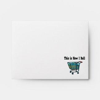 How I Roll Shopping Cart Envelope