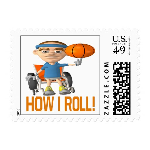 How I Roll Stamp