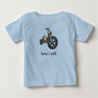 how i roll t-shirts