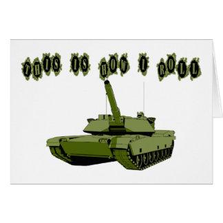 How I Roll Tank Card