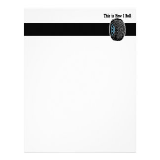 How I Roll Tire Letterhead Template