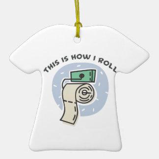 How I Roll (Toilet Paper) Ornaments