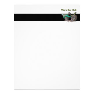 How I Roll (Tractor) Letterhead