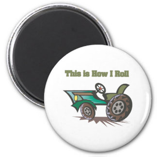 How I Roll (Tractor) Magnet