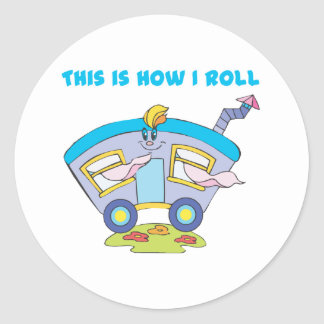 How I Roll (Trailer/Mobile Home) Stickers