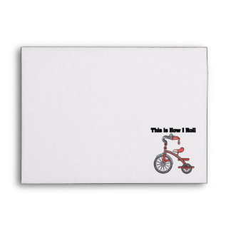 How I Roll (Tricycle) Envelope
