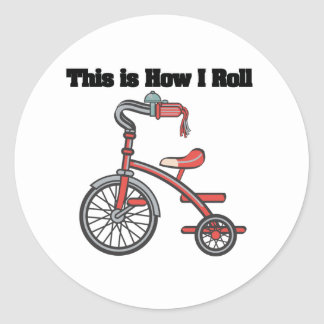 How I Roll (Tricycle) Sticker