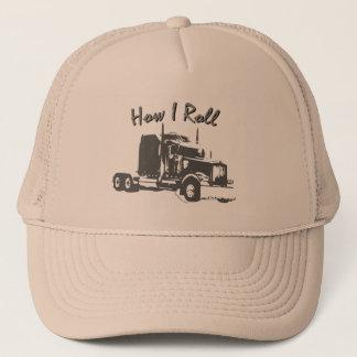 How I Roll Truckers Mesh Cap