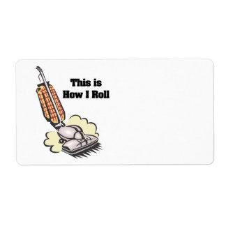 How I Roll (Vacuum Cleaner) Label
