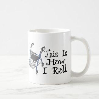 How I Roll Walker Coffee Mug