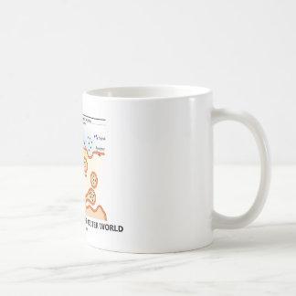 How I Secrete To The Outer World (Exocytosis) Classic White Coffee Mug