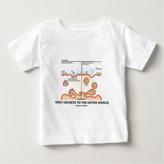How I Secrete To The Outer World (Exocytosis) T Shirts