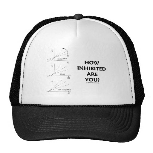 How Inhibited Are You? (Chemistry Enzyme Kinetics) Hat