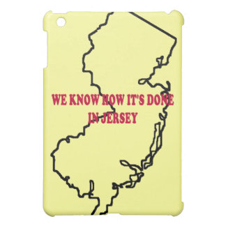 How It's Done in Jersey iPad Case