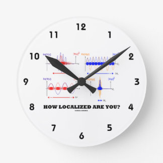 How Localized Are You? (Wave Packet Localization) Round Clock