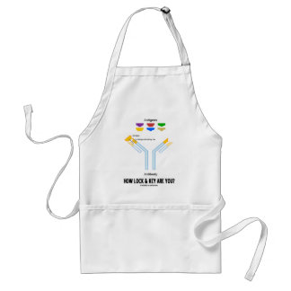 How Lock And Key Are You? (Antigen Antibody) Adult Apron