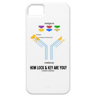 How Lock And Key Are You? (Antigen Antibody) iPhone SE/5/5s Case