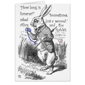 How long is forever? card